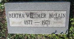 Bertha Whitmer McLain