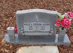 Willie L. <I>Upshaw</I> Alford