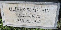 Oliver W McLain