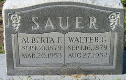 Walter G Sauer