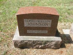 Gertrude Ellen Johnson
