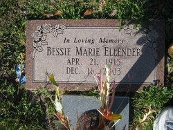 Bessie Marie Ellender