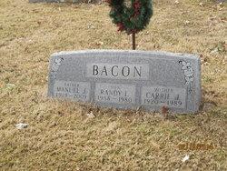 Carrie <I>Davis</I> Bacon
