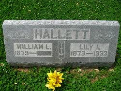 Lily Letitia <I>Rosa</I> Hallett