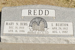 Mary Naomi <I>Berg</I> Redd