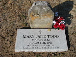 Mary Jane <I>Todd</I> Todd