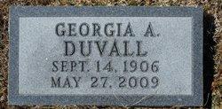 Georgia Alice <I>Alvis</I> Duvall
