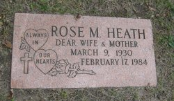 Rose M Heath