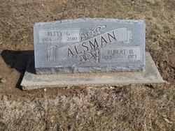 Robert H Alsman