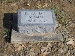 Eliza Jane Alsman