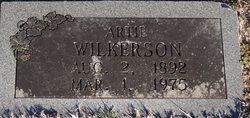 """Arda """"Artie"""" <I>Bellar</I> Wilkerson"""