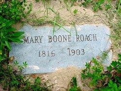 Mary Westley <I>Boon</I> Roach