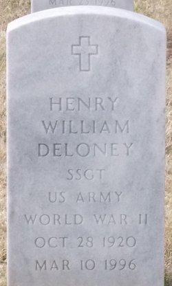 SSGT Henry William Deloney
