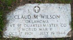 Claud Marrow Wilson