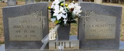 Ola Letha <I>Huneycutt</I> Hill