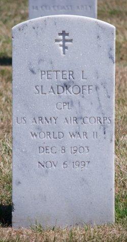 Peter L Sladkoff