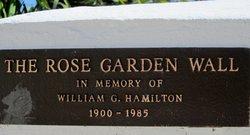 William G Hamilton