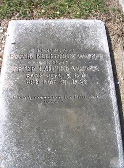 Bessie Dennis <I>Robertson</I> Walker