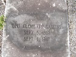 Lou Clements Gaskins