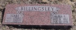 Alma I. <I>Johnson</I> Billingsley