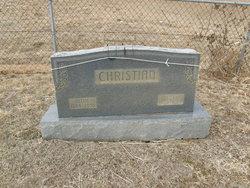 """Cornelia """"Nellie"""" <I>Crawford</I> Christian"""