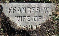 "Frances ""Fannie"" <I>Woodruff</I> Shott"