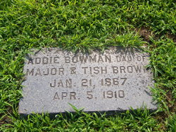 Addie <I>Brown</I> Bowman