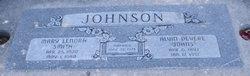 Mary Lenora <I>Smith</I> Johnson
