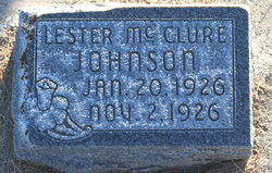 Lester McClure Johnson