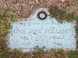 "Una Jane ""Jane"" <I>Perryman</I> Holland"
