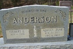 Adrian Jane <I>Loe</I> Anderson