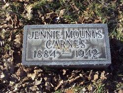 Jennie <I>Mounts</I> Carnes