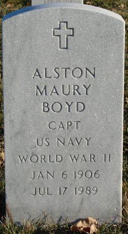 Alston Maury Boyd