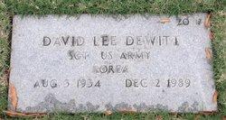 David Lee Dewitt