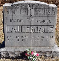 Isabel <I>Antle</I> Lauderdale