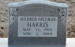 Mildred <I>Freeman</I> Harris