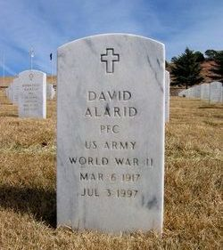 PFC David Alarid, Sr