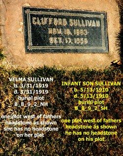 Infant Son Sullivan