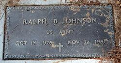Ralph B Johnson