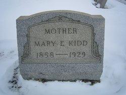 Mary Elizabeth <I>Parks</I> Kidd