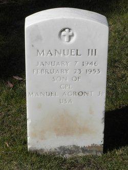 Manuel Agront, III