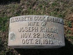 Elizabeth Cook <I>Emerson</I> High