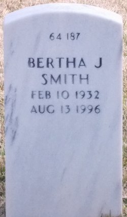Bertha J Smith