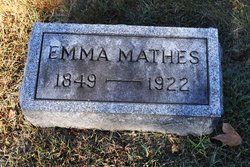 Emma <I>Knoblock</I> Mathes