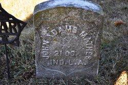 John Adams Mathes