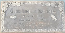 Alice Lucille Saunders