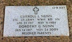 Carroll Lucian Nunn