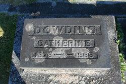Catherine <I>Putherbough</I> Dowding