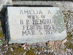 Amelia A Hendrix