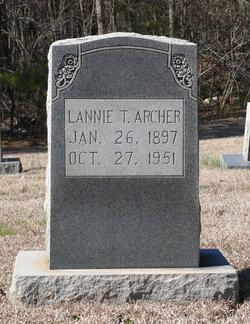 Lannie Tabitha <I>Thompson</I> Archer